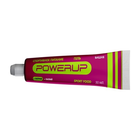 Гель POWERUP Powerup темно-розовый 50ML