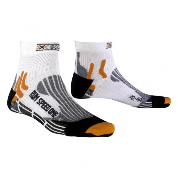 Носки X-Socks X-Socks Run Speed One one set vertical stripes socks