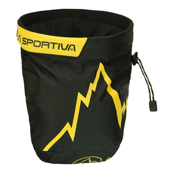 Мешочек для магнезии La Sportiva Lasportiva черный шнурки la sportiva lasportiva mountain trango