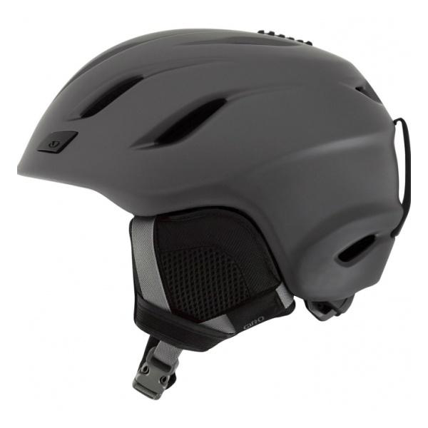 Горнолыжный шлем Giro Giro Nine серый XL(62.5/65CM) шлем горнолыжный giro nine 7093766 серый размер xl 62 65