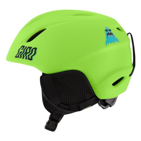 Горнолыжный шлем Giro Launch детский светло-зеленый S(52/55.5CM)