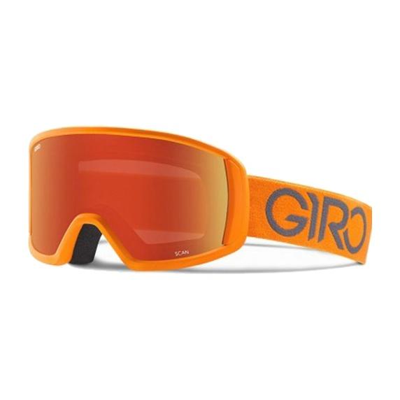 Горнолыжная маска Giro Giro Scan оранжевый MEDIUM горнолыжная маска giro giro dylan голубой women'smedium