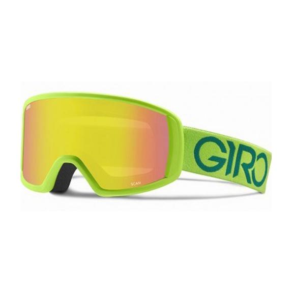 Горнолыжная маска Giro Giro Scan светло-зеленый MEDIUM горнолыжная маска giro giro scan темно красный medium