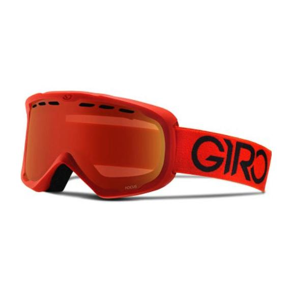Горнолыжная маска Giro Giro Focus красный MEDIUM горнолыжная маска giro giro scan темно красный medium