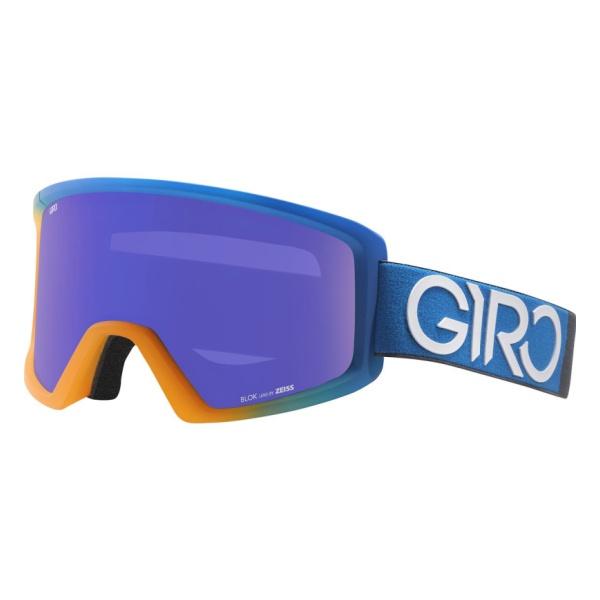 Горнолыжная маска Giro Giro Blok темно-голубой LARGE горнолыжная маска giro giro dylan голубой women'smedium