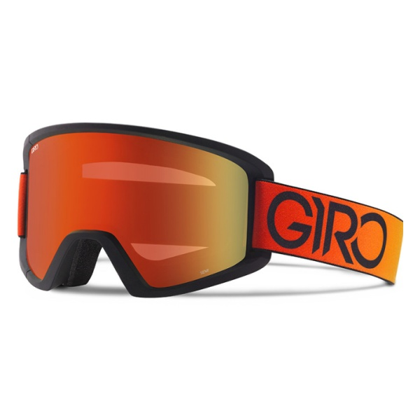Горнолыжная маска Giro Semi оранжевый MEDIUM