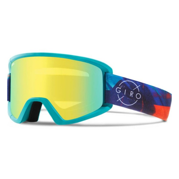 Горнолыжная маска Giro Giro Dylan голубой WOMEN'SMEDIUM горнолыжная маска giro giro dylan голубой women'smedium