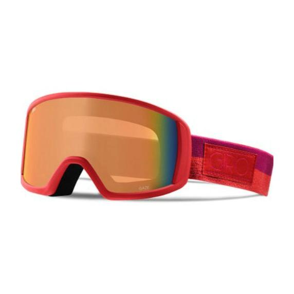 Горнолыжная маска Giro Giro Gaze красный WOMEN'SMEDIUM горнолыжная маска giro giro scan темно красный medium