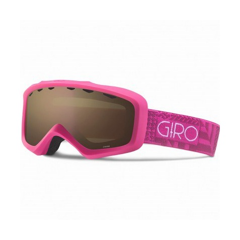 Горнолыжная маска Giro Giro Charm темно-розовый WOMEN'SSMALL anon маска сноубордическая anon helix 2 0 non mir yellow amber fw18 one size