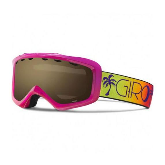 Горнолыжная маска Giro Giro Grade юниорская темно-розовый YOUTHMEDIUM горнолыжная маска giro giro grade темно голубой medium