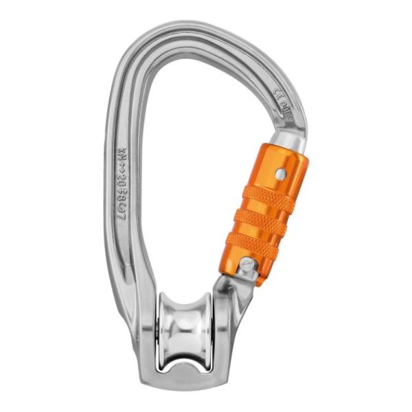 Карабин с роликом Petzl Petzl Rollclip Z Triact-Lock petzl карабин am d triact lock