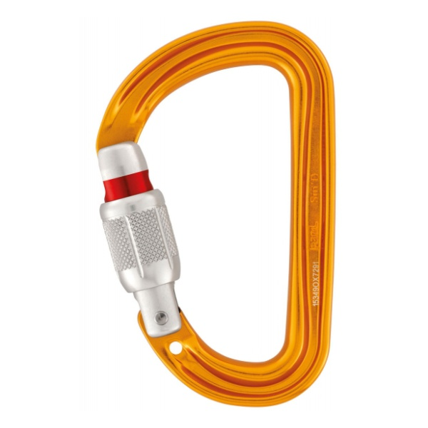 Карабин Petzl Petzl Sm'D Screw-Lock