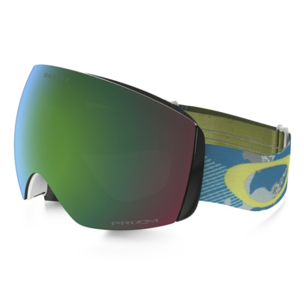 Горнолыжная маска Oakley Oakley Flight Deck Xm темно-голубой oakley airbrake mx herlings signature series goggles orange frame fire iridium lens