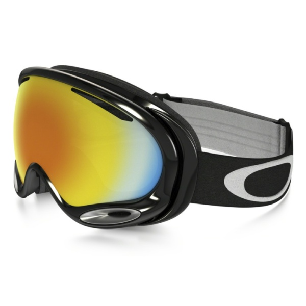 Горнолыжная маска Oakley Oakley A Frame 2.0 черный oakley airbrake mx herlings signature series goggles orange frame fire iridium lens
