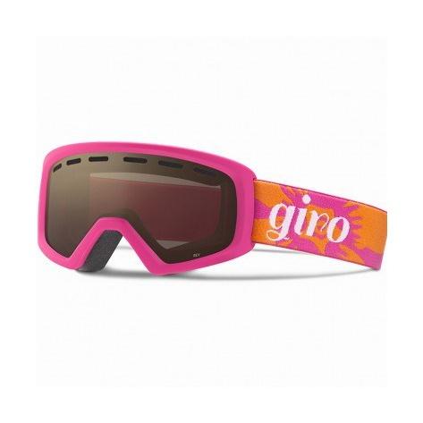 Горнолыжная маска Giro Giro Rev детская темно-розовый YOUTHMEDIUM горнолыжная маска giro giro chico темно голубой small