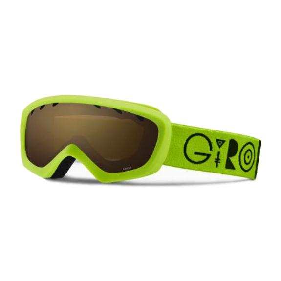 Горнолыжная маска Giro Giro Chico светло-зеленый YOUTHSMALL anon маска сноубордическая anon helix 2 0 non mir yellow amber fw18 one size