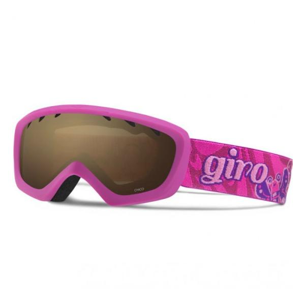Горнолыжная маска Giro Giro Chico темно-розовый YOUTHSMALL anon маска сноубордическая anon helix 2 0 non mir yellow amber fw18 one size