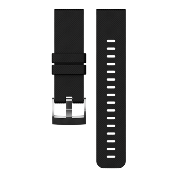 Ремешок Suunto Traverse черный for suunto essential high quality milan stainless steel watchband 24mm two types watch strap for suunto core traverse bracelet