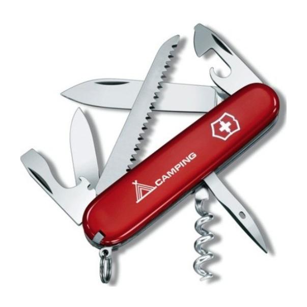 Нож перочинный Victorinox Victorinox Camper 91мм нож перочинный victorinox swisschamp 1 6795 lb1 красный блистер