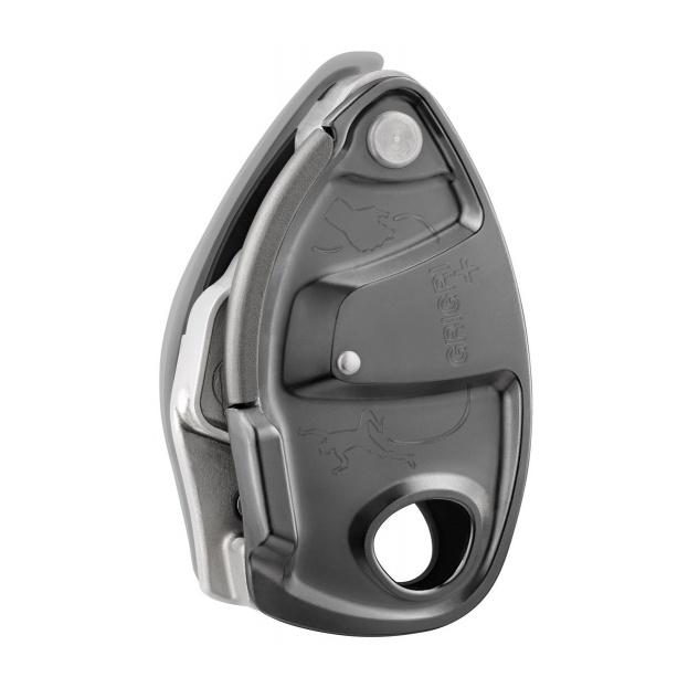 Устройство страховочное Petzl Petzl GRIGRI + серый страховочное устройство petzl petzl asap lock