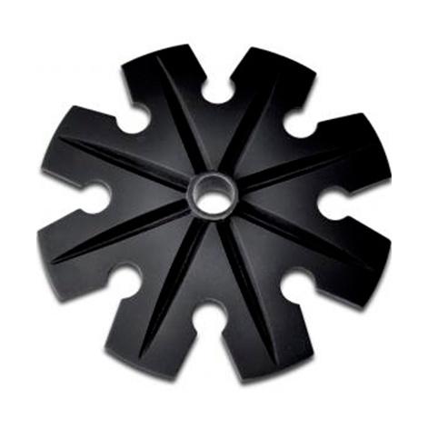 Кольца для палок Vipole Frech Snow Basket D120 120 grid print round storage basket