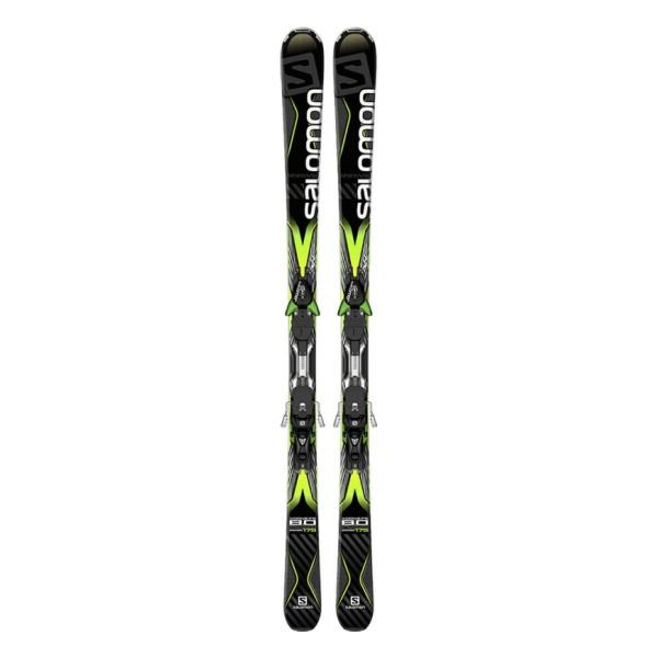 Горные лыжи Salomon X-Drive 8.0 FS + M XT12 черный (16/17)