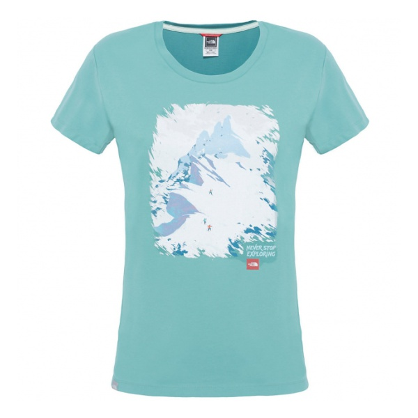 Футболка The North Face The North Face S/S Nse Series Tee женская брюки спортивные the north face m nse light pant tnf me gr he