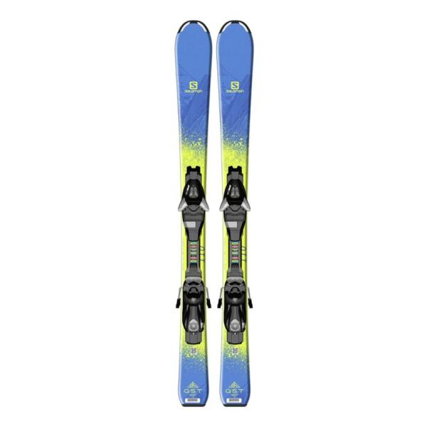 Горные лыжи Salomon Salomon Qst Max Jr S + E Ezy5 J75 (15/16) беговые лыжи salomon set esc 5 gr plk access с креплениями 206 см l391688pm