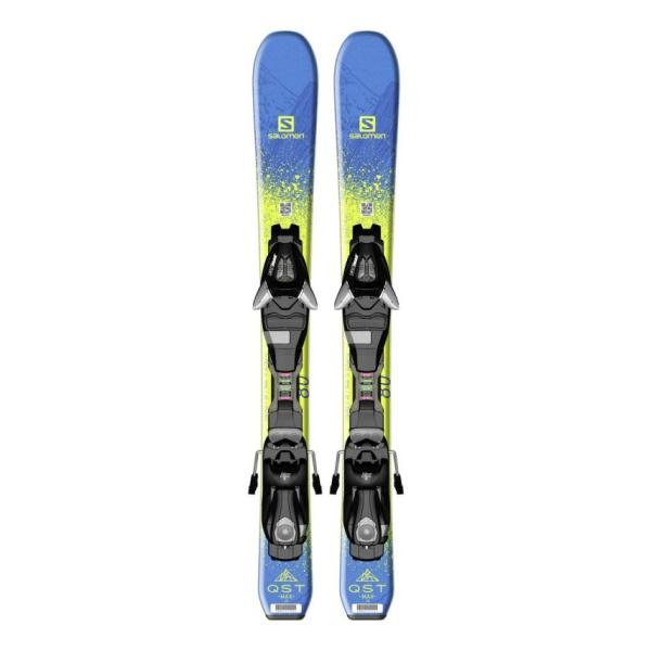 Горные лыжи Salomon Salomon Qst Max Jr XS + E Ezy5 J75 (15/16)