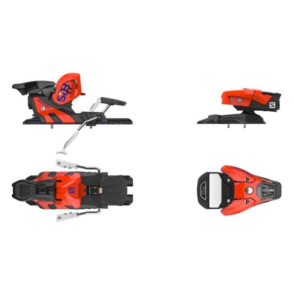 Горнолыжные крепления Salomon STH2 WTR 13 оранжевый 115