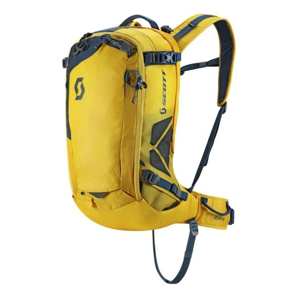 Лавинный рюкзак Scott Scott Air Free Ap 24 Kit (картридж в комплекте) черный