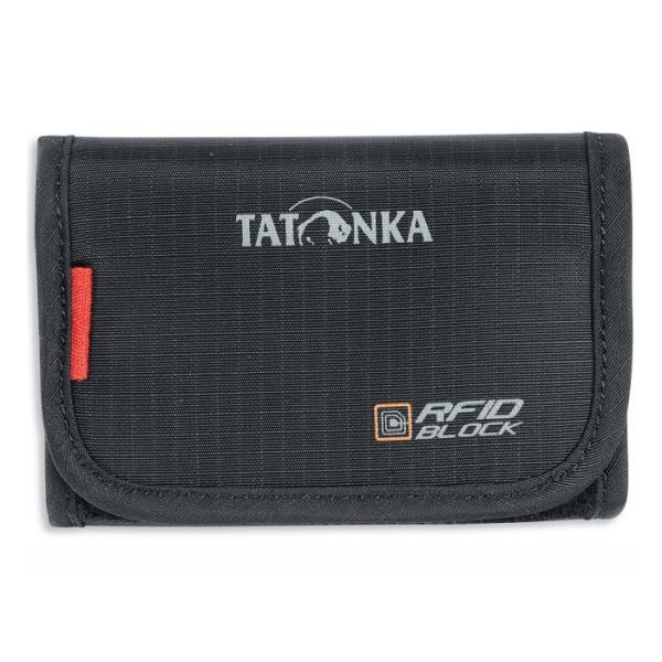 Органайзер Tatonka Tatonka Folder Rfid черный кошелек tatonka travel zip l rfid black 2957 040