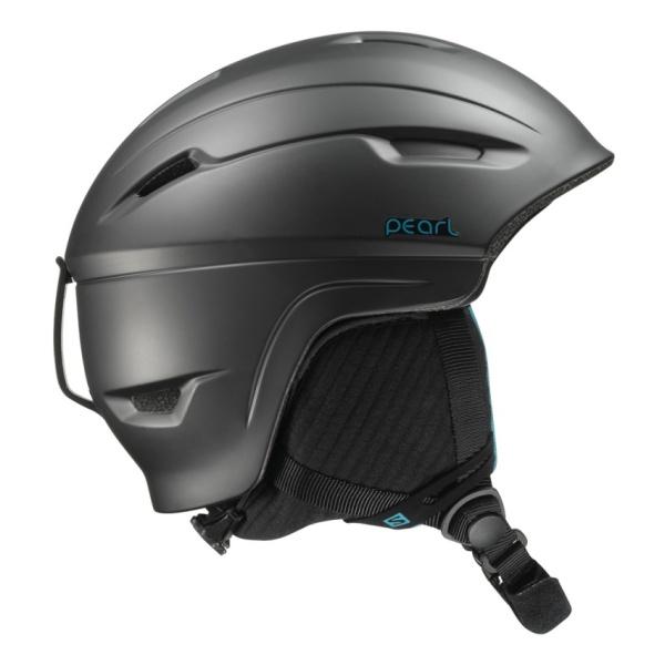 Горнолыжный шлем Salomon Pearl 4D женский черный S(53/56)