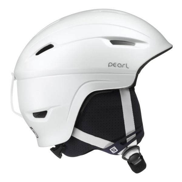 Горнолыжный шлем Salomon Pearl 4D женский белый S(53/56)