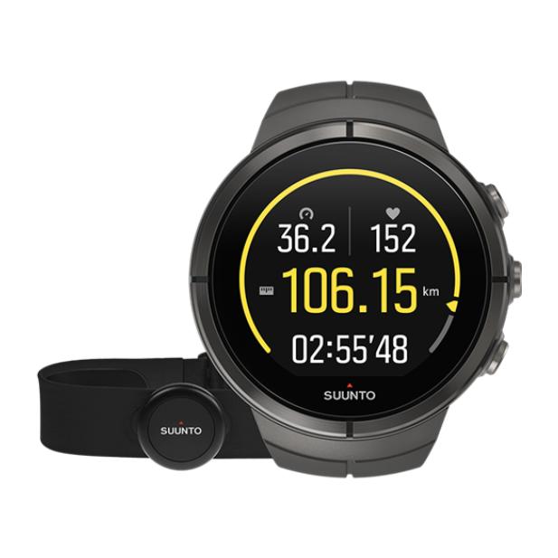 Часы Suunto Spartan Ultra Stealth Titanium HR темно-серый