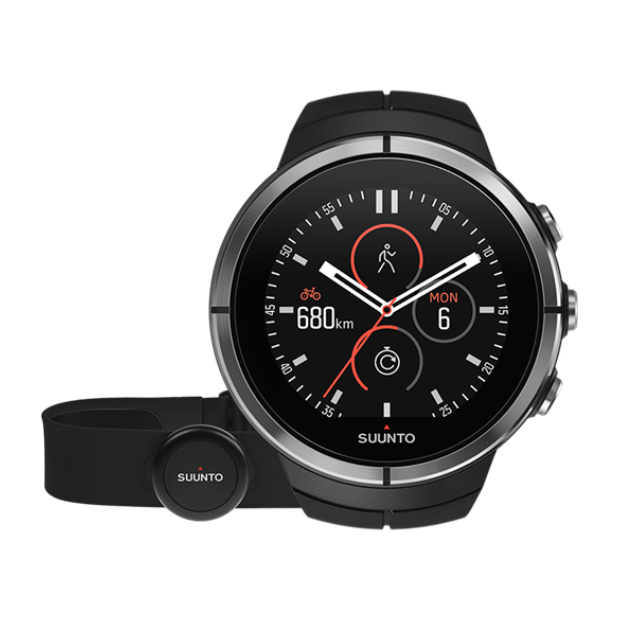 Купить Часы Suunto Spartan Ultra Black HR