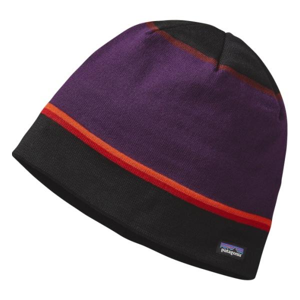 Шапка Patagonia Beanie темно-фиолетовый ALL