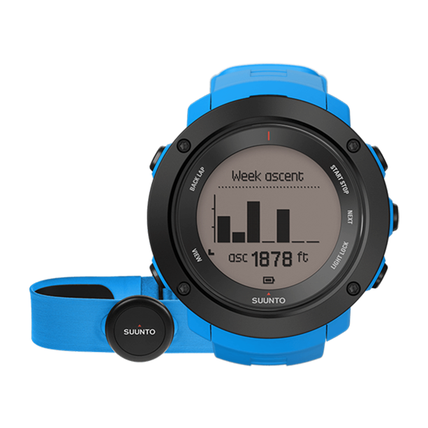 Часы Suunto Suunto Ambit 3 Vertical HR синий смарт часы suunto ambit3 vertical hr синий ss021968000