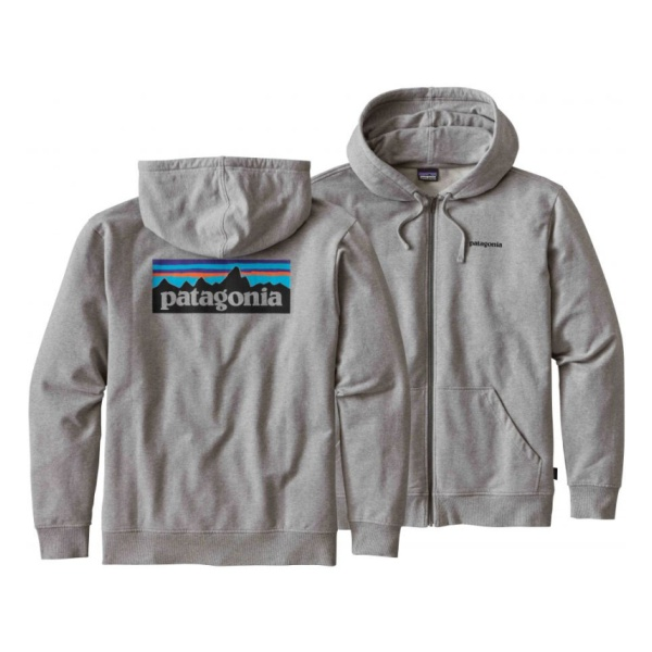 Толстовка Patagonia P-6 Logo Midweight Full-Zip Hoody
