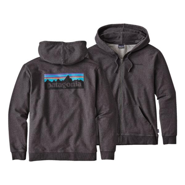 Patagonia P-6 Logo Midweight Full-Zip Hoody patagonia merino 3 midweight zip neck