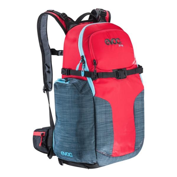 Рюкзак EVOC Evoc Cp 18L красный M(27X52X17см).18л фото камеры