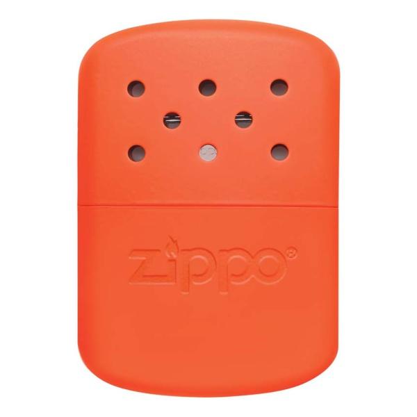 Грелка каталитическая ZIPPO Zippo, сталь с покрытием Blaze Orange оранжевый 66X13X99мм