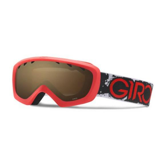 Горнолыжная маска Giro Giro Chico красный YOUTHSMALL anon маска сноубордическая anon helix 2 0 non mir yellow amber fw18 one size