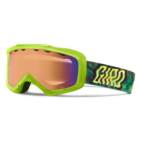 Горнолыжная маска Giro Grade зеленый YOUTHMEDIUM