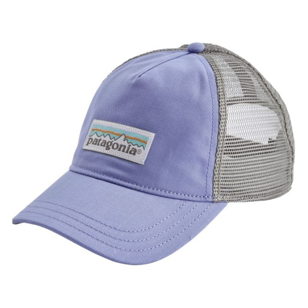 Кепка Patagonia Patagonia Pastel P-6 Label Layback Trucker Hat женская светло-фиолетовый ONE футболка patagonia patagonia l s pastel p 6 logo responsibili tee женская