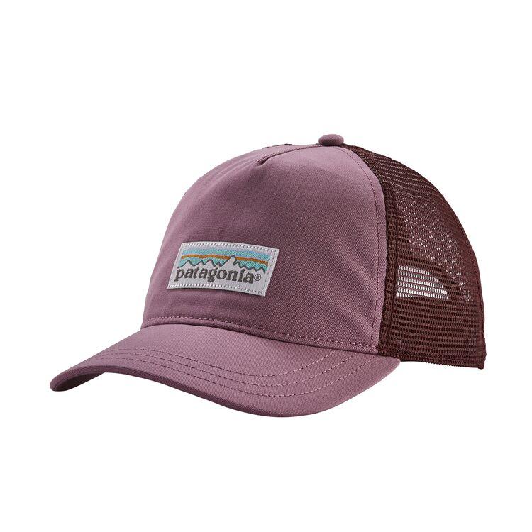 Кепка Patagonia Patagonia Pastel P-6 Label Layback Trucker Hat женская фиолетовый ONE бейсболка patagonia patagonia small text logo lopro trucker hat one
