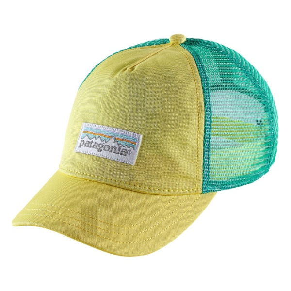 Кепка Patagonia Pastel P-6 Label Layback Trucker Hat женская желтый ALL