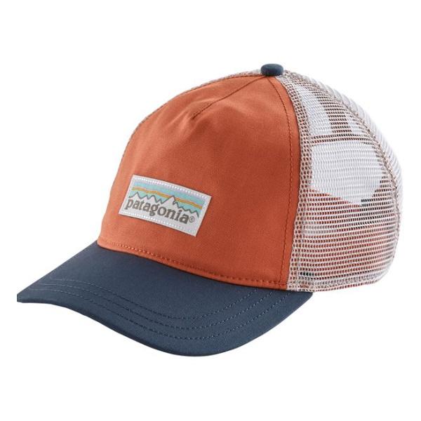 Кепка Patagonia Patagonia Pastel P-6 Label Layback Trucker Hat женская темно-оранжевый ONE бейсболка с сеткой black label hunter trucker hat