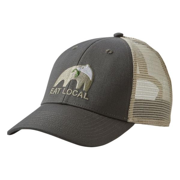 Кепка Patagonia EAT Local Upstream Lopro Trucker Hat темно-серый ALL
