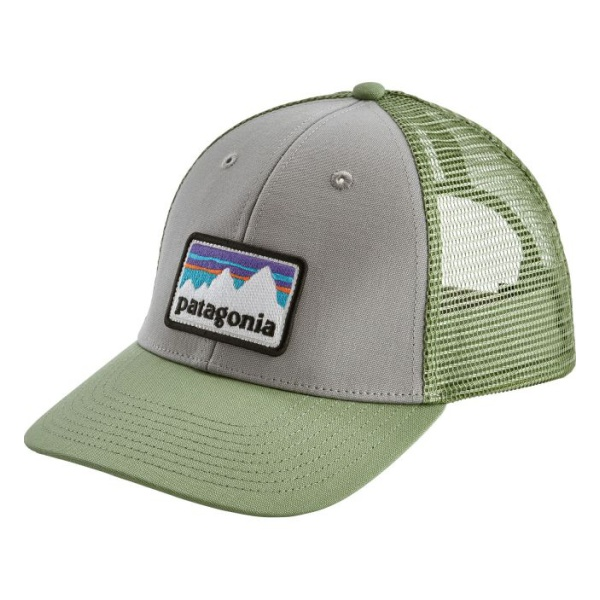 Кепка Patagonia Patagonia Shop Sticker Patch Lopro Trucker светло-зеленый ONE кепка patagonia patagonia p6 trucker синий one